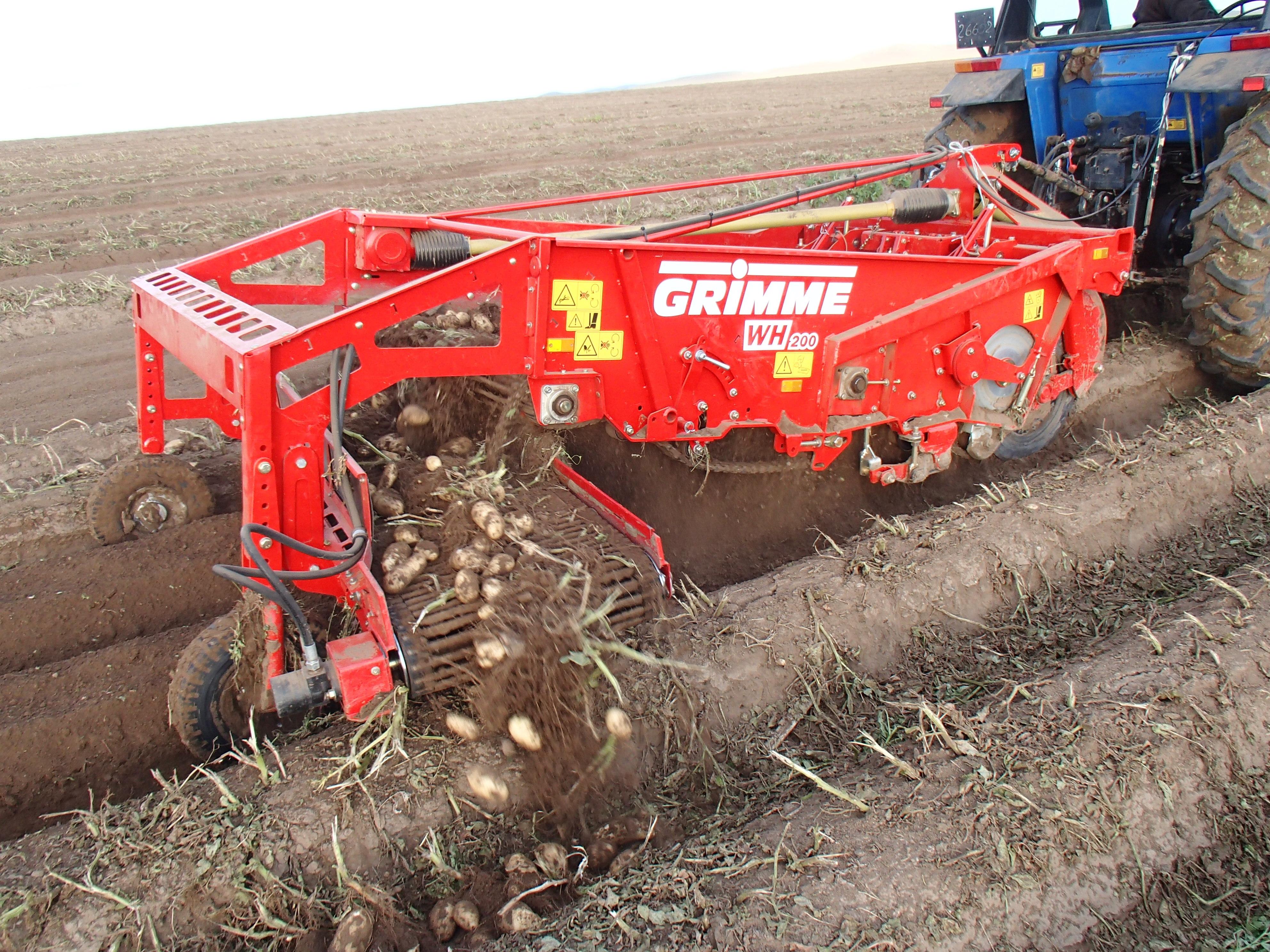 Картофелекопатель «WR 200»