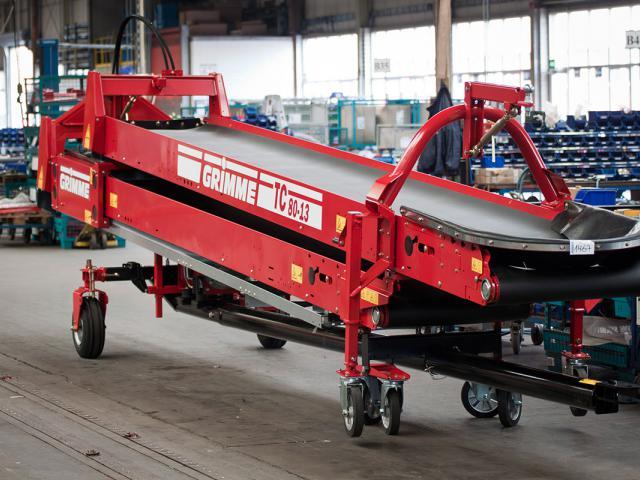 Двойной ленточный транспортер «TC 80»